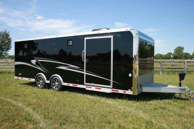 2018 Intech Trailers Custom 24 Custom Car Hauler HRT