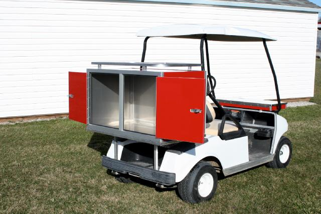 2018 EZ-GO Golf Cart CUSTOM SHORT BOX NO DRAWERS ADD ON
