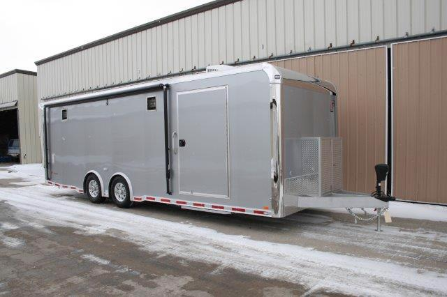 2018 Intech Trailers Icon 26ft Custom Race Trailer