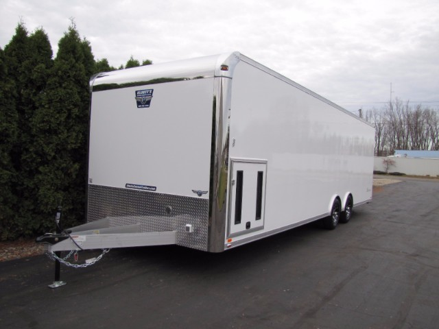 2018 Intech Trailers Custom New 28ft  LITE SERIES Tag Car Hauler