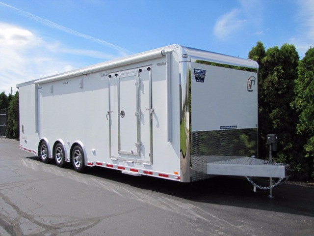 2017 Intech Trailers Icon 28ft MOTORCYCLE TRAILER