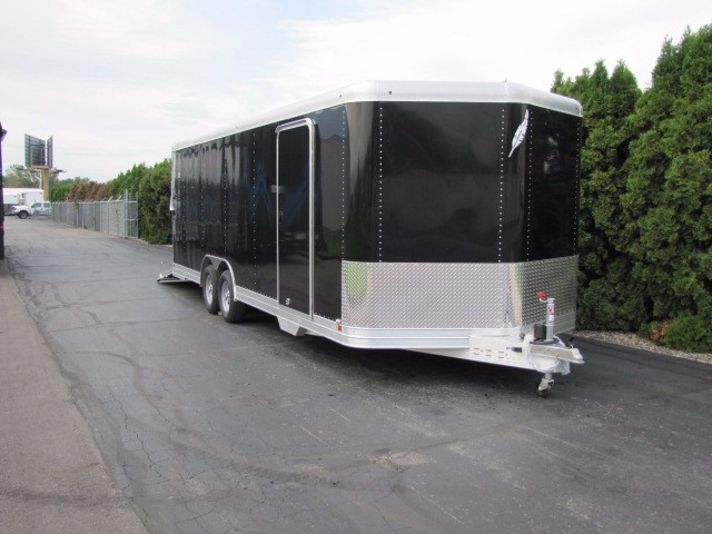 2016 Featherlite Trailers 4926 24ft 8ft-6in WIDE V-NOSE CAR HAULER