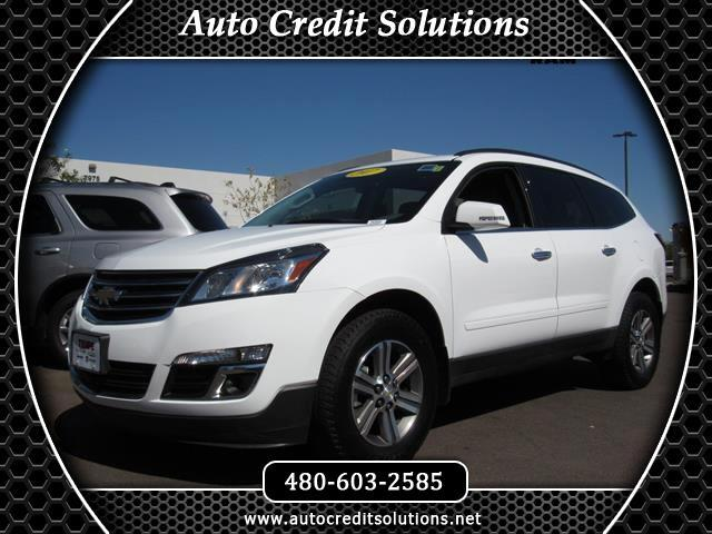 2017 Chevrolet Traverse Summit White 2017 Chevrolet Traverse 1LT FWD 4D Sport UtilityCARFAX One-Own