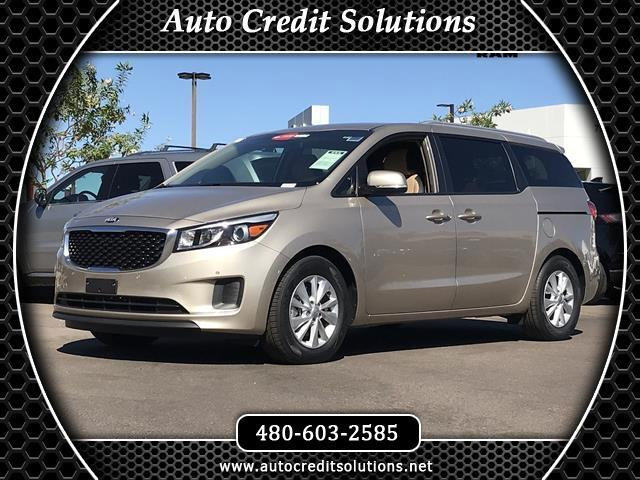 2017 Kia Sedona This 2017 Kia Sedona LX series is Certified Pre - Owned which includes - the follow