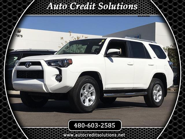 2017 Toyota 4Runner This 2017 Toyota 4Runner includes AC a rear window defroster steering wheel mo