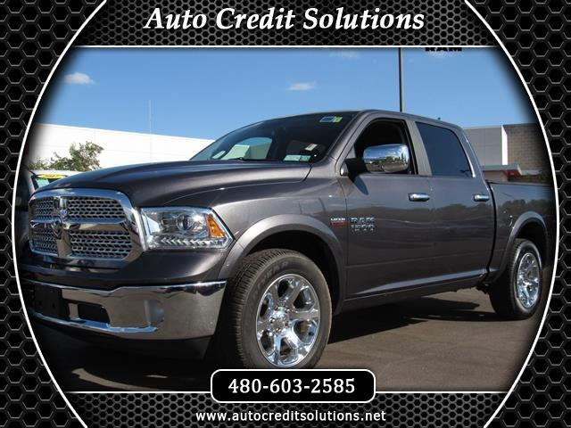 2016 RAM 1500 This 2016 Ram 1500 Laramie series includes electronic stability control ABS 4-wheel