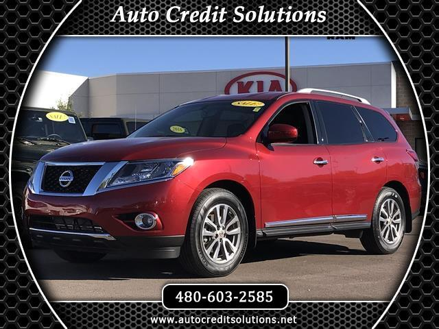 2015 Nissan Pathfinder This 2015 Nissan Pathfinder SL series includes --- blind - spot info system