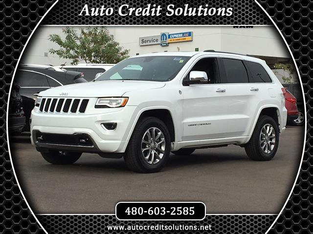 2016 Jeep Grand Cherokee This 2016 Jeep Grand Cherokee Overland series includes --- a power liftgate