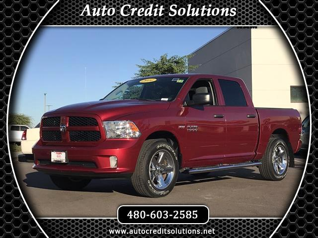 2014 RAM 1500 This 2014 Ram 1500 Crew Cab Tradesman Pickup 4D series includes - electronic stabilit