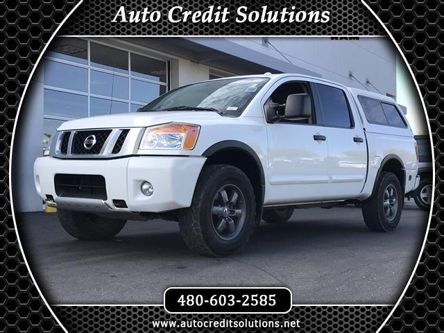 2014 Nissan Titan This 2014 Nissan Titan PRO series is a Certified Pre - Owned  includes - rollove