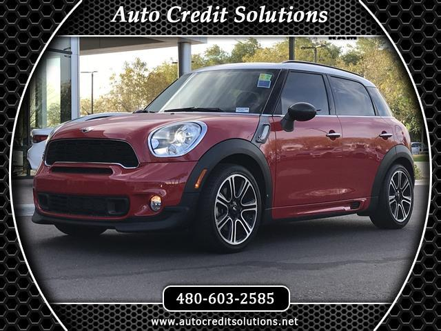 2014 MINI Countryman Chili Red 2014 MINI Cooper S Countryman FWD 4D Sport UtilityCARFAX One-Owner
