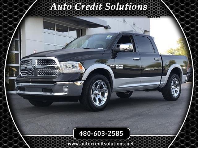 2016 RAM 1500 Brilliant Black Crystal Pearlcoat 2016 Ram 1500 4WD 4D Crew Cab includes - electronic