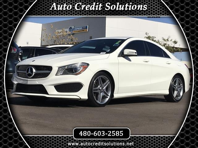 2014 Mercedes CLA-Class This 2014 Mercedes - Benz CLS 250 class series includes -- 8 speakers AMFM