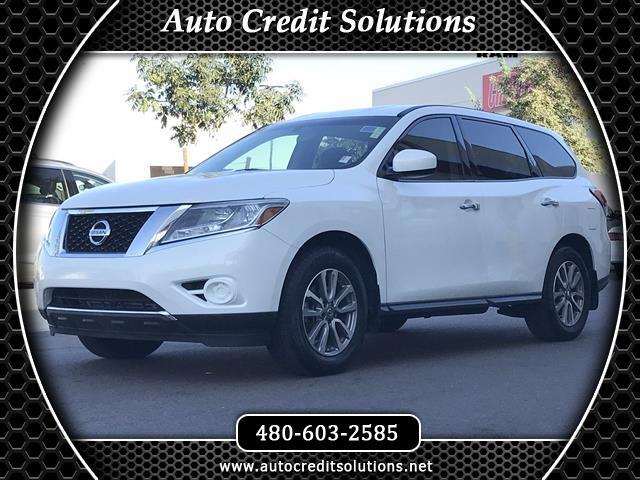 2014 Nissan Pathfinder This 2014 Nissan Pathfinder S series includes hill start assist control vehi