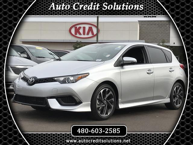 2017 Toyota Corolla iM Right car Right price Success starts with Tempe Dodge Chrysler Jeep Ram an