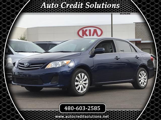 2013 Toyota Corolla Right car Right price Success starts with Tempe Dodge Chrysler Jeep Ram and K