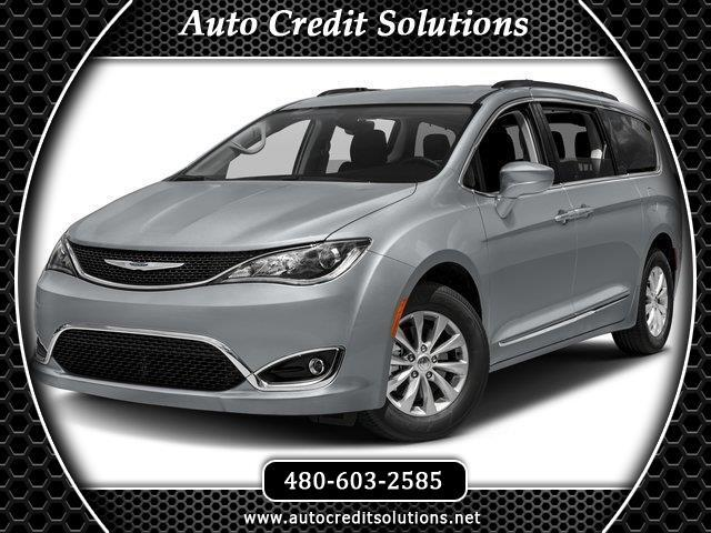 2017 Chrysler Pacifica Silver 2017 Chrysler Pacifica FWD 4D Passenger VanCARFAX One-Owner Clean CA
