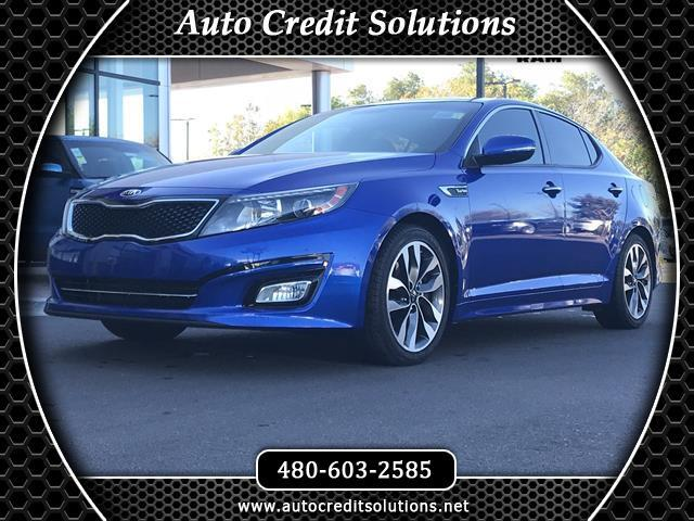 2015 Kia Optima Corsa Blue 2015 Kia Optima Turbo FWD 4D Sedan includesblind - spot alert hill sta