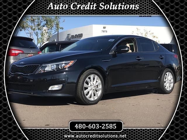 2015 Kia Optima Aurora Black 2015 Kia Optima FWD 4D SedanClean CARFAX 2334mpg24L I4 DGI DOHC 6-Sp