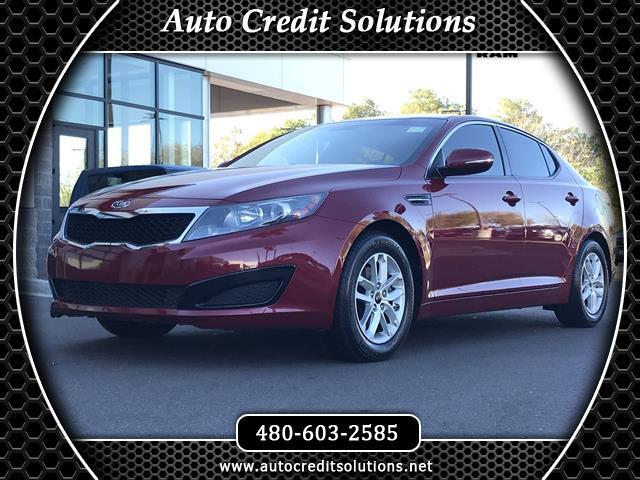 2011 Kia Optima Spicy Red 2011 Kia Optima FWD 4D SedanCARFAX One-Owner Clean CARFAX Odometer is 2