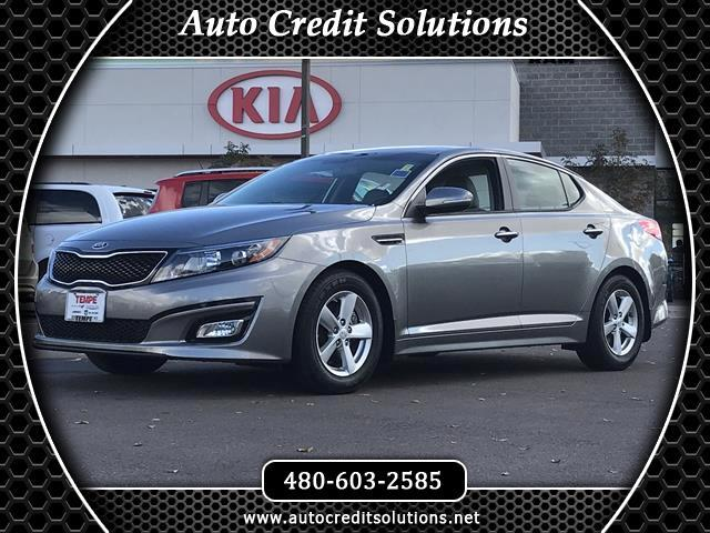 2015 Kia Optima Titanium Silver 2015 Kia Optima FWD 4D SedanClean CARFAX Odometer is 22746 miles b