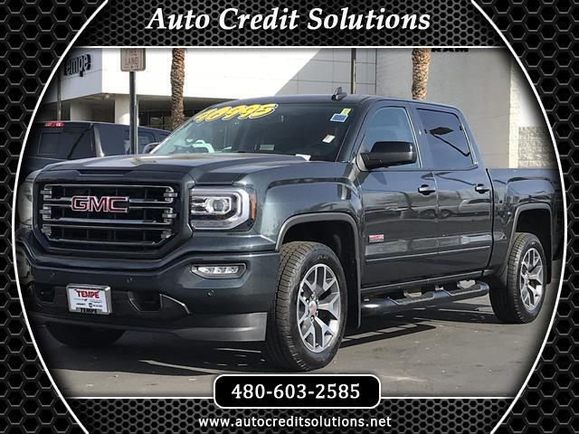 2017 GMC Sierra 1500 Stone Blue Metallic 2017 GMC Sierra 1500 4WD 4D Crew Cab includes -- the follow
