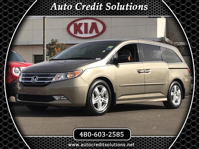 2012 Honda Odyssey Smoky Topaz Metallic 2012 Honda Odyssey FWD 4D Passenger VanCARFAX One-Owner 19
