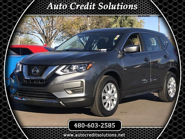 2017 Nissan Rogue New PriceGun Metallic 2017 Nissan Rogue FWD 4D Sport Utility includes -- blind -