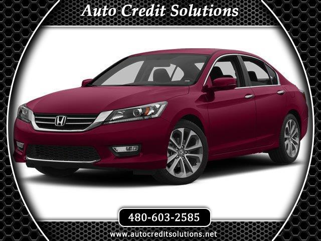 2013 Honda Accord Recent ArrivalSan Marino Red 2013 Honda Accord FWD 4D SedanOdometer is 769 miles