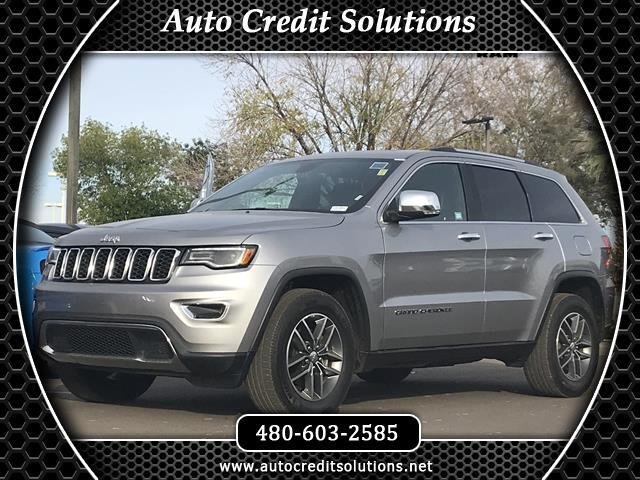2017 Jeep Grand Cherokee New PriceBillet Silver Metallic Clearcoat 2017 Jeep Grand Cherokee RWD 4D