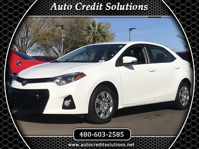 2016 Toyota Corolla New PriceSuper White 2016 Toyota Corolla FWD 4D SedanCARFAX One-Owner Clean C