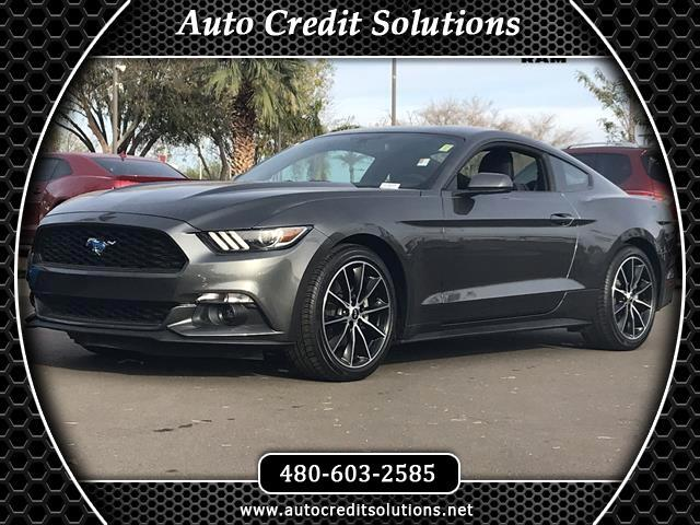 2017 Ford Mustang Magnetic Metallic 2017 Ford Mustang RWD 2D CoupeCARFAX One-Owner Clean CARFAX O