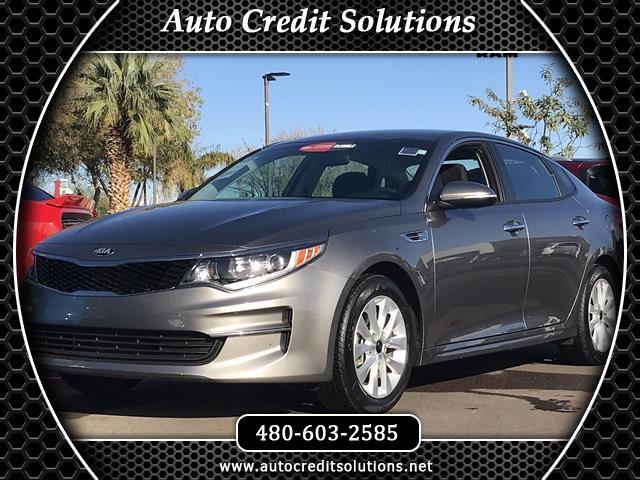 2017 Kia Optima Titanium Silver 2017 Kia Optima FWD 4D SedanCertified Clean CARFAX 2536mpg24L I