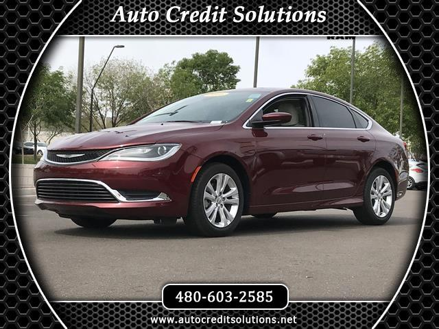 2016 Chrysler 200 Redline Red Tricoat Pearl 2016 Chrysler 200 FWD 4D SedanCARFAX One-Owner Clean C
