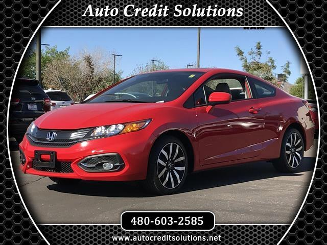 2015 Honda Civic Rallye Red 2015 Honda Civic FWD 2D CoupeClean CARFAX Odometer is 9315 miles below