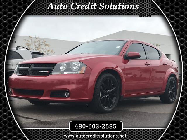 2014 Dodge Avenger Redline 2 Coat Pearl 2014 Dodge Avenger FWD 4D SedanCARFAX One-Owner Clean CARFA
