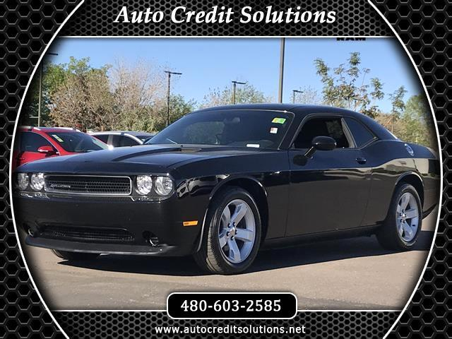 2014 Dodge Challenger Recent ArrivalBlack Clearcoat 2014 Dodge Challenger RWD 2D CoupeCARFAX One-O
