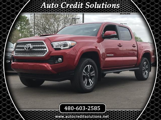 2016 Toyota Tacoma Recent ArrivalBarcelona Red Metallic 2016 Toyota Tacoma V6 RWD 4D Double Cab in