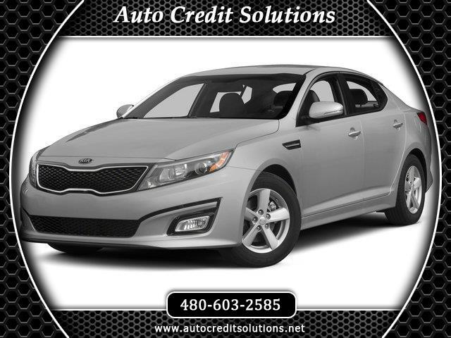 2015 Kia Optima Recent ArrivalSnow White Pearl 2015 Kia Optima FWD 4D SedanClean CARFAX 2334mpg2
