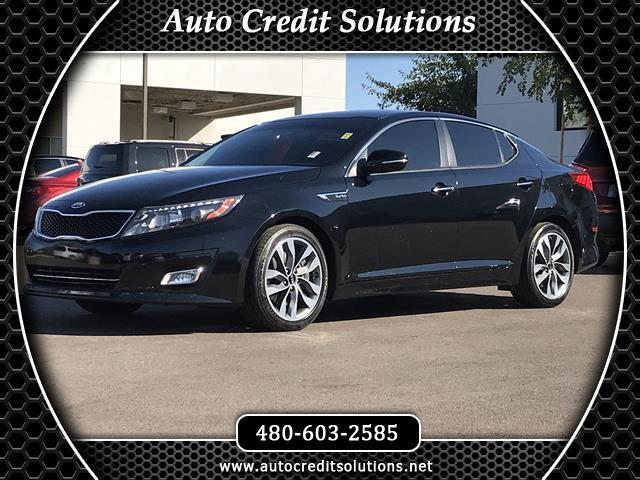 2015 Kia Optima Ebony Black 2015 Kia Optima Turbo FWD 4D Sedan includes hill start assist control t