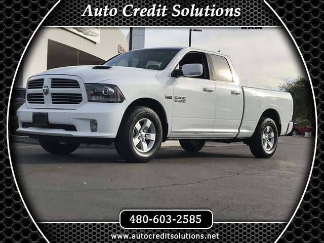 2013 RAM 1500 Recent ArrivalBright White Clearcoat 2013 Ram 1500 RWD 4D Quad Cab includes luxury pa