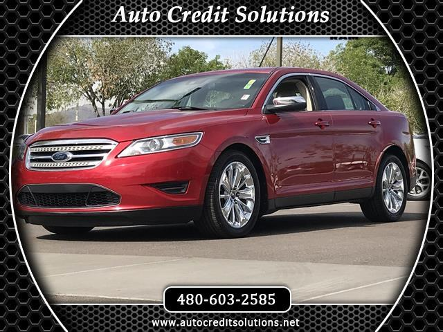 2010 Ford Taurus Candy Red Metallic Tinted Clearcoat 2010 Ford Taurus FWD 4D Sedan includes -- trac