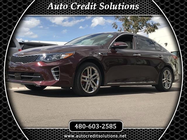 2017 Kia Optima Recent ArrivalSangria 2017 Kia Optima Turbo FWD 4D Sedan includes -- blind - spot d