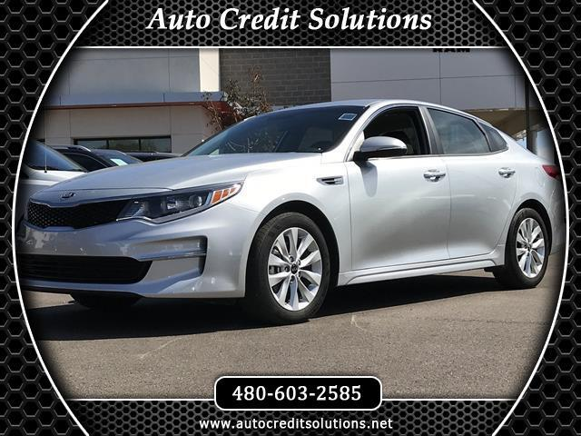 2017 Kia Optima Recent ArrivalSparkling Silver 2017 Kia Optima FWD 4D Sedan includes - remote trun