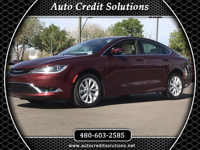 2015 Chrysler 200 Recent ArrivalVelvet Red Pearlcoat 2015 Chrysler 200 FWD 4D SedanOdometer is 3312