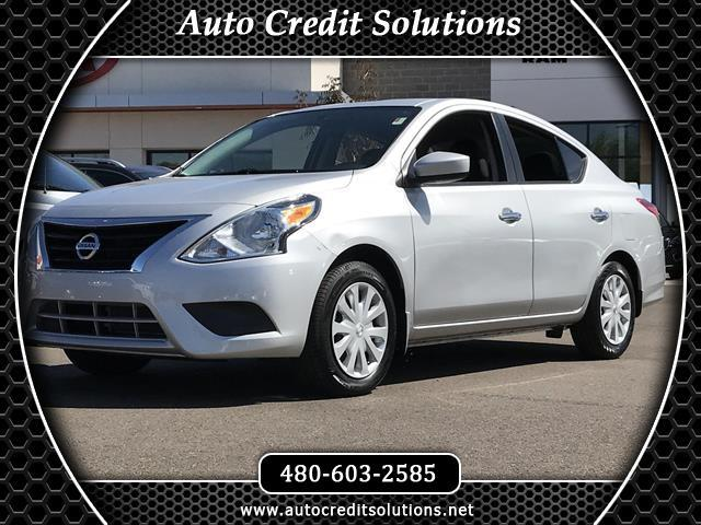 2015 Nissan Versa Brilliant Silver 2015 Nissan Versa FWD 4D Sedan includes traction control vehicle