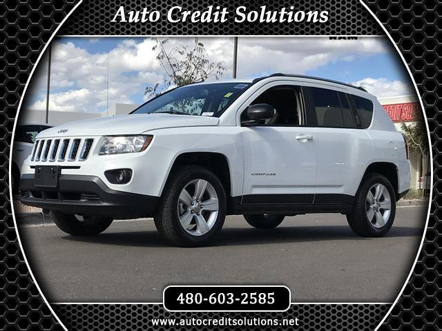2017 Jeep Compass Recent ArrivalNew PriceBright White Clearcoat 2017 Jeep Compass 4WD 4D Sport Ut