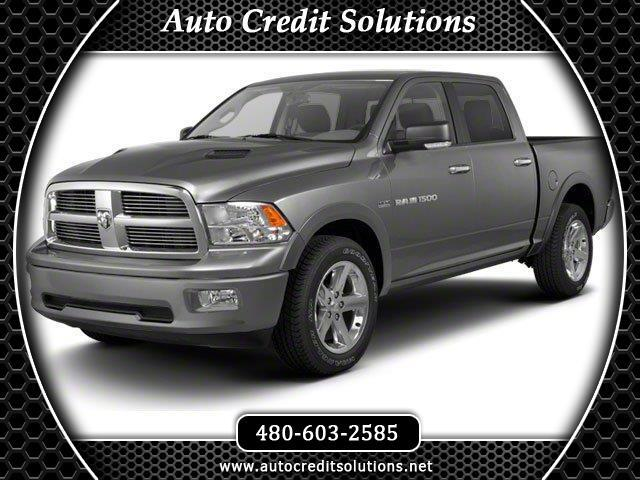 2011 RAM 1500 Recent ArrivalBright White Clearcoat 2011 Ram 1500 4WD 4D Crew Cab includesstabili