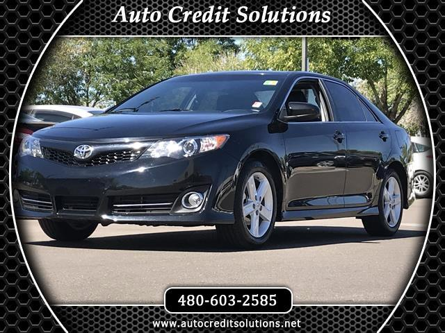 2013 Toyota Camry Recent ArrivalAttitude Black Metallic 2013 Toyota Camry FWD 4D Sedan includes tr