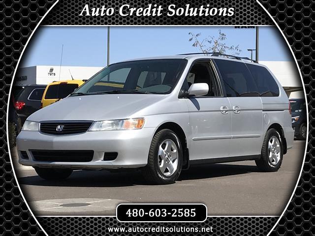 2001 Honda Odyssey Starlight Silver Metallic 2001 Honda Odyssey 7 Passenger FWD 4D Passenger Van in